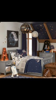 Star Wars Themed Room By Pottery Barn Kids