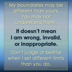 Some people will go put of their way to disrespect boundaries. Makes me sick.