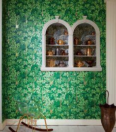 Fornasetti II Chiavi Segrete Wallpaper, Cole & Son