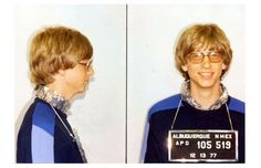 Bill Gates the stylish hipster criminal