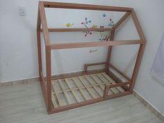 comment construire un lit maison seul maman louve chambre enfant pinterest maman louve. Black Bedroom Furniture Sets. Home Design Ideas