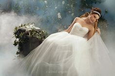 Disney Wedding: Gown (Cinderella Style 205)    #DisneyFairyTaleWeddings by #AlfredAngelo  #Top3