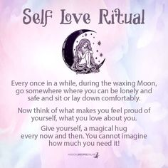 Self Love ritual - Magical Kiss Spells For Beginners, Witchcraft For Beginners, Wiccan Spells, Love Spells, Healing Spells, Wiccan Rituals, Wiccan Symbols, The Witcher, Ravenclaw