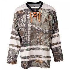466054967 MonkeySports Realtree Dark Sublimated Adult Hockey Jersey