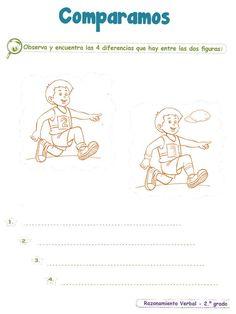 Razonamiento Verbal 2º Grado Primaria | Razonamiento Verbal