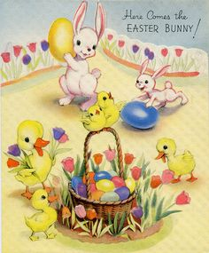 Here Comes the Easter Bunny! by froggyboggler, via Flickr
