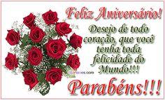 Desejo de todo coração, que você tenha toda felicidade do Mundo!