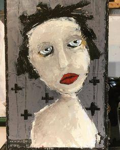#art #artwork #artist #artistic #artistsoninstagram #expressionism #figurativeart #contemporaryart #acrylicpainting #rawartists #artgallery #modernart #artlovers #artcollector #lindavachon (à St-Louis de Blandford Municipa)