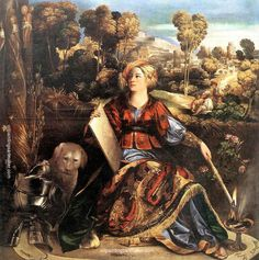 Dosso Dossi Melissa (Circe) - Dosso Dossi, painting Authorized official website