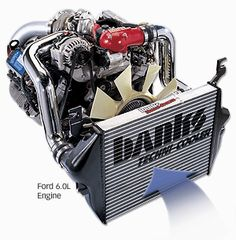Banks Ford 6.0L Engine
