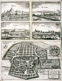 <> fürst: Statt Stuetgart ; Kartenmaterial ;
