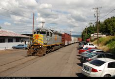RailPictures.Net Photo: PNWR 3051 Portland & Western Railroad EMD SD45R at Rainier, Oregon by Ben Kletzer
