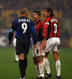 Ronaldo Luiz Nazario, Genaro Gatuso y Paolo Maldini