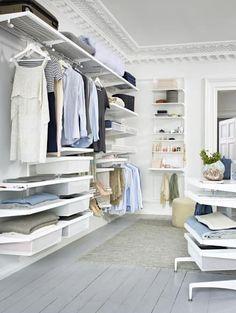 Ankleidezimmer gestalten beispiele  ankleidezimmer gestalten begehbarer kleiderschrank | Interieur ...