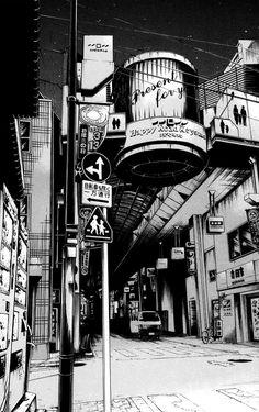 Manga Artist Kiyohiko Azuma's Urban Sketches of Japan | Spoon & Tamago