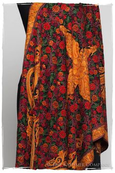 The Antiquaires Shawl Collection Kashmiri Shawls, Pashmina Shawl, Contemporary Fashion, Flower Patterns, Embroidery Designs, Vintage Fashion, Shopping, Clothes, Collection