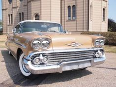 """1958 CHEVROLET Impala 348 Tri-Power  -  what """"real"""" cars looked like in the year of my birth."""