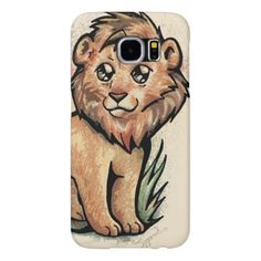 Cute Animal:  Lion Samsung Galaxy S6 Case - cat cats kitten kitty pet love pussy