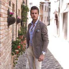 «P A S T E L L O  www.simplymrt.com #dapper #menswear #style #gentleman #italian #summer #class»