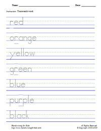 Worksheet Handwriting Worksheets Name handwriting worksheets kid and free on pinterest type in your childs name this site creates a worksheet with traceable letters