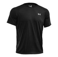 Men s Under Armour UA Tech Short Sleeve T - Black 1cef8c36887