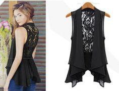 Price Cut well Fashion chiffon -Camis  Camisoles from stylishplus.com