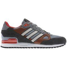 adidas zx 750 monotone zwart and gray