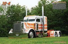 Centerfold Gallery | 10-4 Magazine Big Rig Trucks, Semi Trucks, Cool Trucks, Custom Big Rigs, Custom Trucks, Trailers, Peterbilt Trucks, Classic Chevy Trucks, Concept Cars