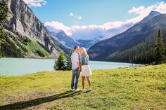 Winter Lotus Photography   Karyla   Scott Engagement in Banff National Park…