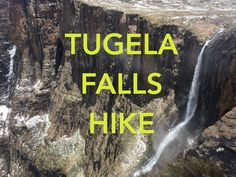 Who knew the second tallest waterfall on the planet was in South Africa? Adventure with me to Tugela Falls in the heart of the Drakensberg Mountains. Ends Of The Earth, South Africa, Two By Two, Waterfall, Hiking, Life, Walks, Waterfalls, Rain