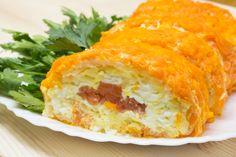 Отличное украшение праздничного стола! Простой рецепт вкуснейшего салата на Новый Год!