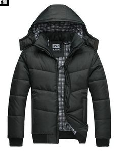 Men's feather padded coat / men's Korean cultivating high-quality