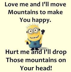 Funniest Minions Pictures And Quotes #minions