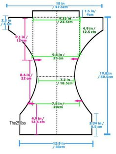 Tutorial: Sewing Cloth Diapers (One Size Pocket Diapers) - womens tren. Tutorial: Sewing Cloth Diapers (One Size Pocket Diapers) - womens trendy clothing, store of clothes, womens clothing for men *ad. Baby Sewing Projects, Sewing For Kids, Sewing Tutorials, Tutorial Sewing, Sewing Diy, Baby Dress Patterns, Doll Clothes Patterns, Sewing Patterns, Sewing Baby Clothes
