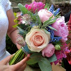Spring Wedding Bouquet Miss Victoria's Floral Emporium