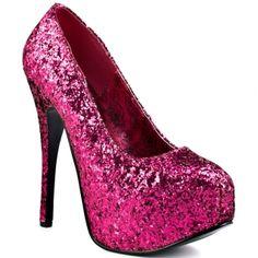 Price: $84.99  Emerald City - Hot Pink Glitter