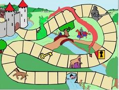Games For Kids, Diy For Kids, Activities For Kids, Castle Classroom, Chateau Moyen Age, Castle Project, Medieval Games, Château Fort, Nursery Rhymes