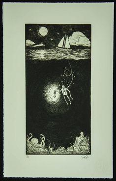 Antiquated Press Print