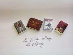 La piccola bottega di Morry: Ancora mini-libri in fimo