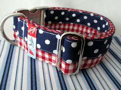 """Hund: Halsbänder - Hundehalsband """"Charmeur"""" - ein Designerstück von Pimp-your-World bei DaWanda"""