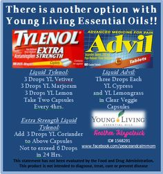 Replace your Tylenol  Advil with Essential Oils! For More Info: www.heatherfitzpatrick.vibrantscents.com www.facebook.com/peaceandcalmmom Sign Up Here: https://www.youngliving.com/signup/?site=USsponsorid=1568291enrollerid=1568291