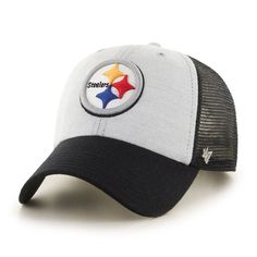 online store 4c5dd b8cf2 NFL Pittsburgh Steelers Belmont Clean Up Hat One Size Black