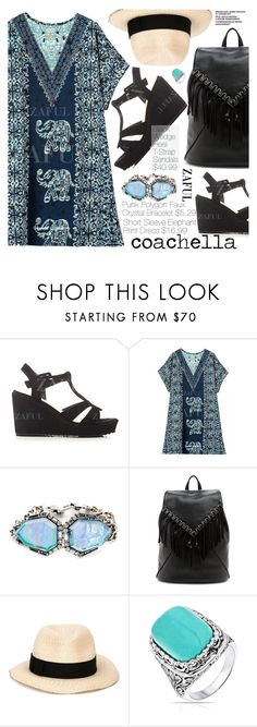 """Pack for Coachella!"" by pokadoll ❤ liked on Polyvore featuring Sole Society, Eugenia Kim and Bling Jewelry"