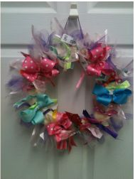 Ribbon & Tulle Spring Wreath