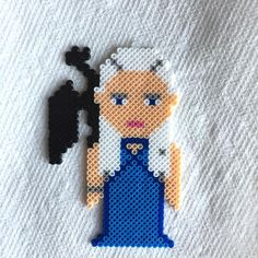 Daenerys Targaryen - Game of Thrones perler beads by momofheathens