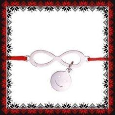Martisor Bratara Inox Infinit Smile Bracelets, Jewelry, Jewlery, Jewerly, Schmuck, Jewels, Jewelery, Bracelet, Fine Jewelry