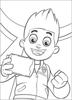 Paw Patrol Coloring Pages Ryder from Paw Patrol Coloring Pages Collection. PAW Patrol is a pre-school animated television series from Canada created by Keith Chapman. The main Characters of this cartoon series is Ryder . Paw Patrol Coloring Pages, Cartoon Coloring Pages, Coloring Pages To Print, Colouring Pages, Coloring Pages For Kids, Coloring Books, Ryder Paw Patrol, Zuma Paw Patrol, Paw Patrol Party