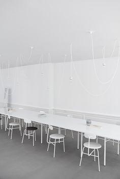 Norm Architects' studio on Snaregade in Copenhagen.