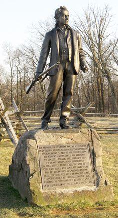 US Civil War bushwhacker hero, John L. Burns. (Can't stay off the fight at 69)