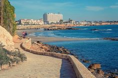 The paseo looking towards La Zenia beach Costa, Most Beautiful Beaches, Murcia, Cabo, Geography, Perfect Place, Places Ive Been, Scenery, Places To Visit